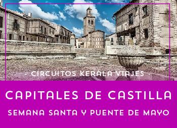 Viajes Castilla León 2017: Capitales de Castilla Desde Valencia