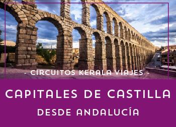 Viajes Castilla León 2017: Viaja a las Capitales de Castilla Desde Andalucía