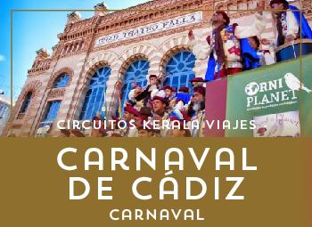 Viajes Andalucía 2017: Viaje al Carnaval de Cádiz 2018 en autobús