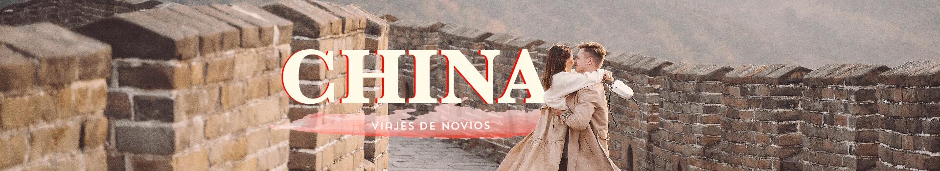 Viaje de Novios por china