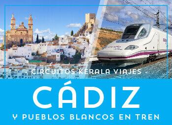 Viajes Andalucía 2019: Rincones de Cádiz y Pueblos Blancos  en Tren Ave