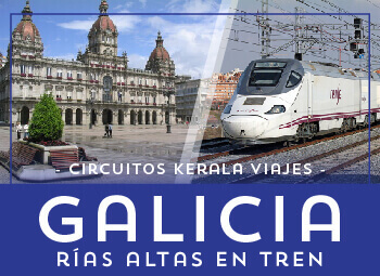 Viajes Galicia 2019: Circuito Galicia Rías Altas en Tren