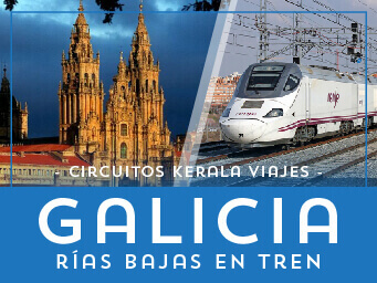 Viajes Galicia 2017: Circuitos Galicia Rias Bajas en Tren
