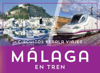 Viajes Andalucía 2019: Tour Costa de Málaga en Tren Ave