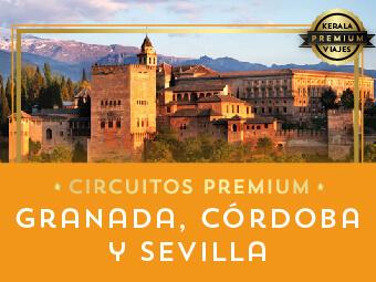 Viajes Andalucía 2019: Circuito Granada, Córdoba y Sevilla Premium