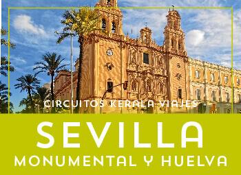 Viajes Andalucía 2017: Viaje a Sevilla Monumental y Huelva en Bus