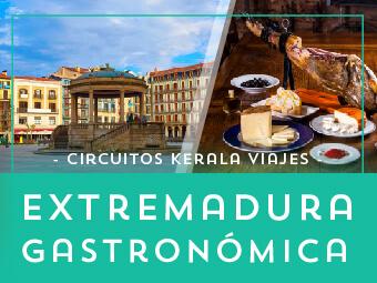Viajes Extremadura 2019: Circuito Extremadura Gastronómica