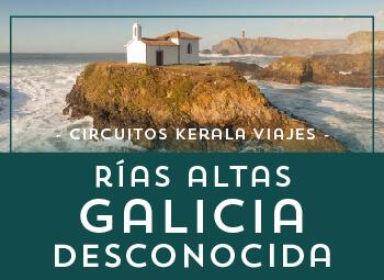 Viajes Galicia 2018-2019: Circuito Rías Altas la Galicia desconocida 2019