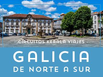 Viajes Galicia 2019: Tour Galicia al Completo de Norte a Sur  Verano 2019