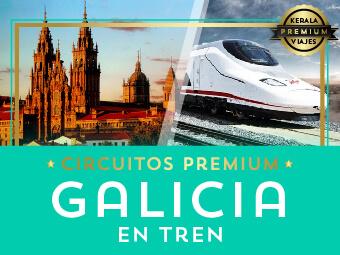 Viajes Galicia 2019: Circuito Galicia Premium en Tren