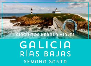 Viajes Galicia 2018-2019: Circuito Galicia Rías Bajas Semana Santa 2019