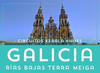 Viajes Galicia 2019: Circuito Galicia Rías Bajas Terra Meiga  2019