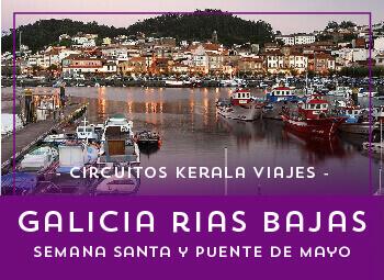 Viajes Galicia 2017: Circuito a Galicia Rías Baixas Semana Santa y Puente de Mayo