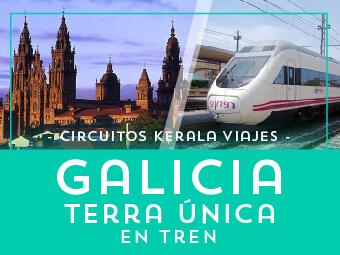 Viajes Galicia 2018-2019: Circuito Galicia Rías Bajas en Tren - Verano 2018