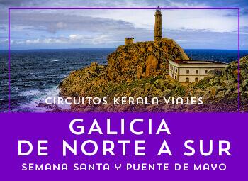 Viajes Galicia 2017: Galicia al Completo Puente de Mayo