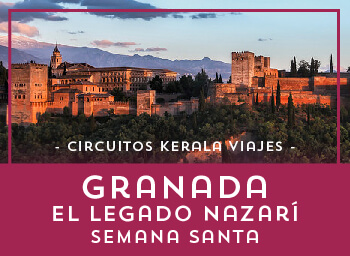 Viajes Andalucía 2019-2020: Granada, el legado nazarí Semana Santa 2020