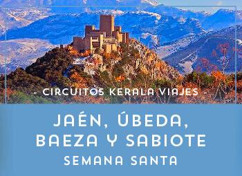 Viajes Andalucía 2018-2019: Jaén, Úbeda, Baeza y Sabiote Semana Santa 2019