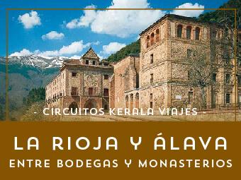 Viajes La Rioja 2019: Tour La Rioja y Álava, bodegas y monasterios 2019
