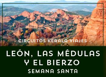 Viajes Castilla León 2018-2019: León, Las Médulas y el Bierzo Semana Santa 2019