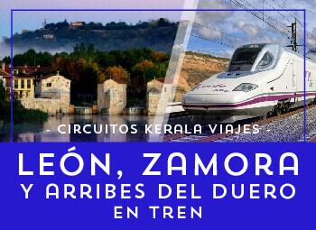 Viajes Castilla León 2018-2019: Circuito León, Zamora y Arribes del Duero en Tren