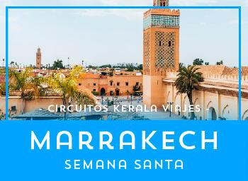 Viajes Marruecos 2019-2020: Circuito Marrakech Semana Santa 2020