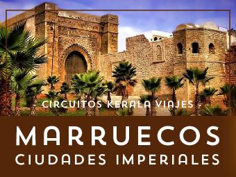 Viajes Marruecos 2018-2019: Circuito Marruecos Ciudades Imperiales 7 días