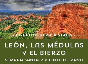 Viajes Castilla León 2017: Circuito en León, Las Médulas y El Bierzo Desde Valencia