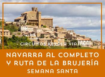 Viajes Navarra 2019-2020: Disfruta de Navarra y Ruta de la Brujería Semana Santa 2020