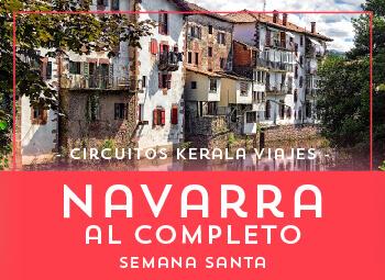 Viajes Navarra 2017: Navarra al Completo  Semana Santa 2018
