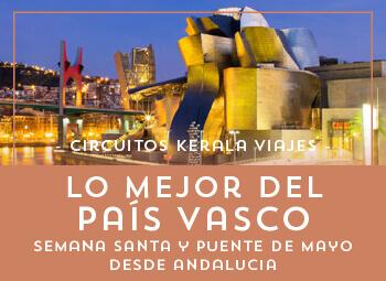 Viajes País Vasco 2017: Viaja a el País Vasco Desde Andalucía