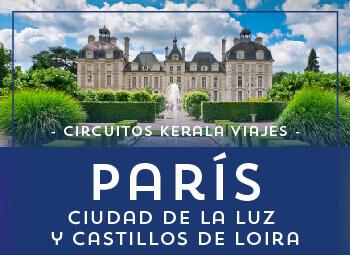 Viajes Francia 2017: Circuito por París, Ciudad de la Luz y Castillos del Loira