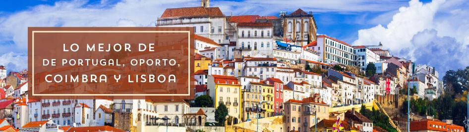 Lo Mejor de Portugal, Oporto, Coimbra y Lisboa