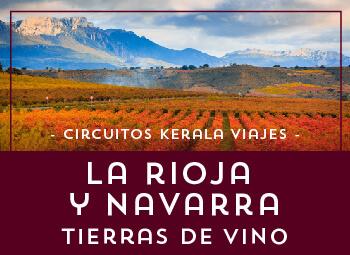 Viajes Navarra y La Rioja 2019: Circuito por La Rioja y Navarra, Tierras del vino 2019