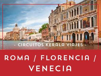 Viajes Italia 2018-2019: Circuito Roma Florencia Venecia 2018 a tu aire