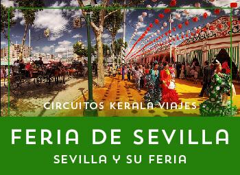 Viajes Andalucía 2017: Viaje a la Feria  de Sevilla 2018