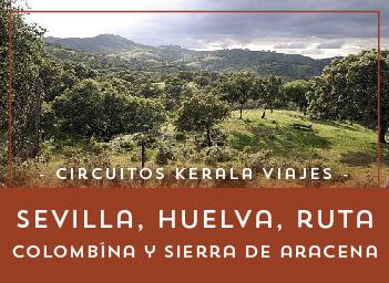 Viajes Andalucía 2019: Tour Sevilla, Huelva, Ruta Colombina