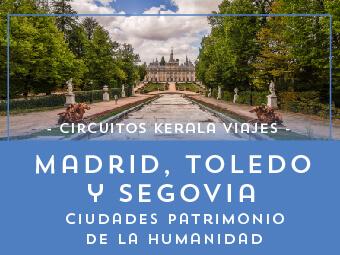 Viajes Madrid 2018-2019: Ciudades Patrimonio de la Humanidad -  Verano 2018