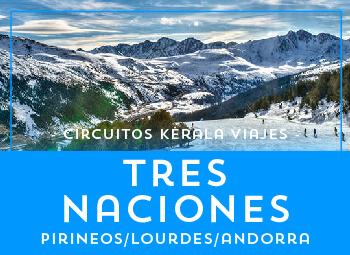 Viajes Aragón 2019-2020: Circuito Tres Naciones, Pirineos, Lourdes y Andorra Semana Santa