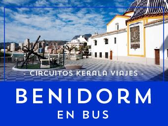 Viajes Comunidad Valenciana 2018-2019: Viaje a Benidorm en Autobús 8 días