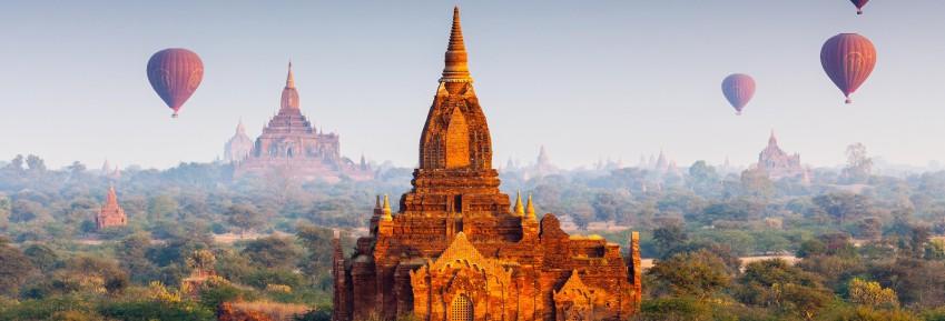 Viajes Myanmar - Birmania 2017: Myanmar, templos y paisajes